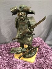 More details for z542 tibetan warrior statue wooden large snake oriental chinese asian