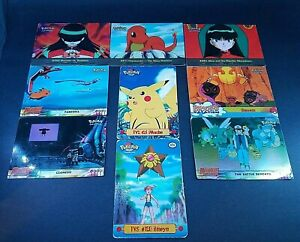 """Pokemon Topps CCG """"Mewtwo Strikes Back & Assorted"""" Lot of 9 Cards Nintendo Movie"""
