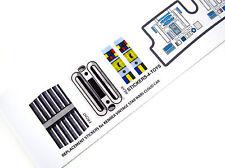 Kenner TWIN-POD CLOUD CAR Vintage Star Wars replacement Sticker + BONUS R2 STIKA