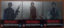 The Walking Dead Season 4,5,6 Exclusive LTd Edition Steelbook Blu Ray (NEW)