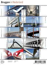 Nederland 2015 Bruggen bridge brücke   vel      postfris/mnh