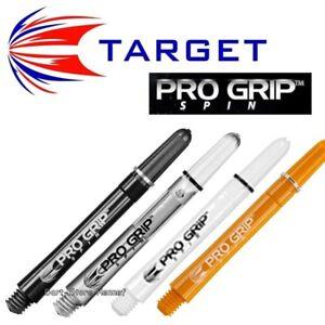 6 Shafts Target PRO GRIP SPIN Dart - Länge und Farbe wählbar