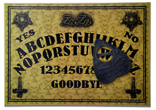 A4 Hand Finished ZoZo Demon Ouija Board with ZoZo Planchette with Safety Tab