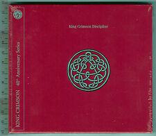 King Crimson,  Discipline_40th Anniversary Series ( CD+DVD )