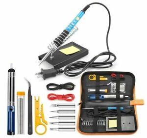 60W Electric Soldering Iron Gun Tool Kit Welding Desoldering Pump Tools Set