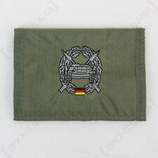 Verde Oliva Panzer Cartera De Infantería Ejército Alemán Bundeswehr gancho y Bucle Nuevo