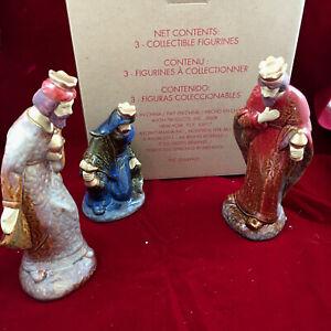 Avon 2011 Christmas Nativity Scene Three Wise Men Set Collection The Magi Kings