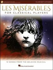Les Miserables for Classical Players Clarinet Music Book/Audio/Piano Play Along