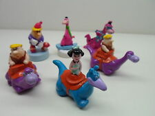 Fast Food Denny's 1991 The Flintstones Dino Racers Kids Meal Toys lot of 3 + 2 o