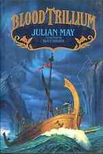 JULIAN MAY BLOOD TRILLIUM BOOK 2 SEQUEL BLACK TRILLIUM HCDJ 1992 1ST ED RARE