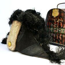 More details for victorian antique bicorn hat, captain h e foster, great maker & super history!