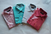 Kinderhemd Hemd Langärmig Freizeit Jungenhemd bügelleicht in 4 Farben Gr.92-146
