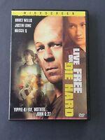 DVD LIVE FREE OR DIE HARD - LA JUNGLA DURO DE MATAR - Bruce Willis Justin Long