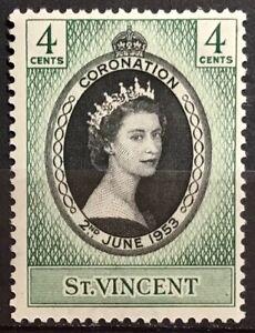 ST VINCENT 1953 CORONATION LMM