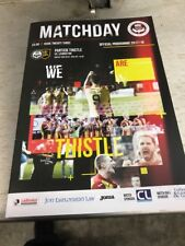 Partick Thistle V Livingston 20th May Scottish Premiership Playoff Final 2nd Leg
