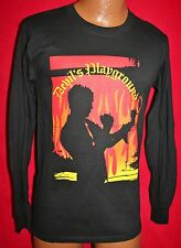 BILLY IDOL 2005 Devils Playground Concert Tour Long Sleeve T-SHIRT S Punk Rock