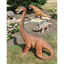 Brachiosaurus Prehistoric Jurassic Reptile Dinosaur Statue Dino Sculpture