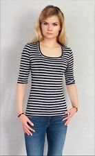 Viscose Business Striped Tops & Blouses for Women