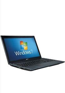 "ACER ASPIRE 5733 15.6"" LAPTOP - CORE i3 - 4GB RAM - 240GB SSD - WINDOWS 10"