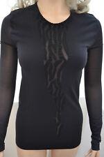 WOLFORD Wilderness Pullover schwarz/schwarz Medium