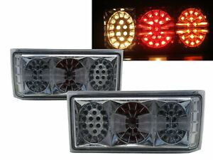Golf1/Rabbit/Caribe MK1 76-80 LEDLook Tail Rear Light Chrome for VW Volkswagen