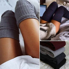 Women Sexy Winter Warm Cotton High Over Knee Socks Thigh Long Stockings Socks
