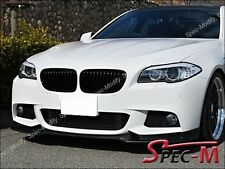 End cc Carbon Fiber Front Bumper Lip Fits 2011+ BMW 528i 535i 550i M sports