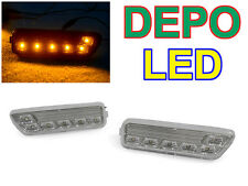USA DEPO VW 99-04 Golf GTI Jetta Clear Amber LED Side Marker Lights No Error