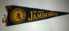 1957 BSA SCOUT JAMBOREE PENNANT