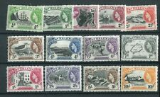 St Helena QEII 1953 set of 13 SG153/65 MNH
