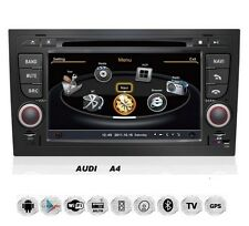 Audi A4 S4 RS4 8E 8F B9 B7 Seat Exeo Android Autoradio Navi GPS WIFI USB B Ware