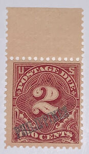 Travelstamps: US PHILIPPINES STAMPS SCOTT #J2 POSTAGE DUE 2 CENT MNH