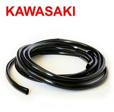kawasaki kz400 wires electrical cabling vintage kawasaki wiring harness soft black shiny pvc metric sleeving 12mm i d