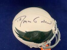 Roman Gabrial Eagles Throwback  Signed Mini Helmet  All Sports COA