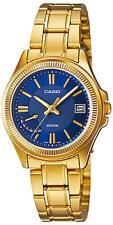 Relojes de pulsera baterías Quartz de acero inoxidable dorado