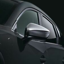 CARCASA tapa cubierta de espejo de ala derecha Negro Mate Para Mazda 3 serie BK 2004-2009