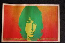 The Doors 1968  Orange Poster New York