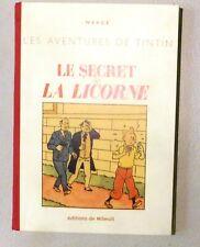 Le Secret de la Licorne. Ed. de Milwuit. Album en n/blanc 116 pages. 30 ex. HC