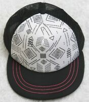 Unbranded Black White Pink Hat Cap Adjustable Snapback One Size Fits All Men's