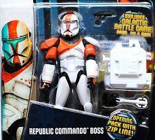 Star Wars The Clone Wars CG Animated CW11 Republic Clone Commando Boss MOC TCW