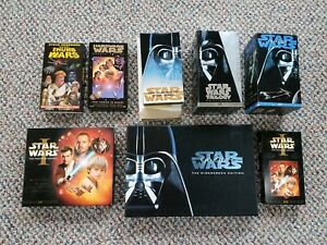 Star Wars Trilogy Episode I Hardware Thumb Wars Making of VHS Lot w/ widescreen