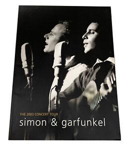 Simon & Garfunkel 2003 Concert Tour Program
