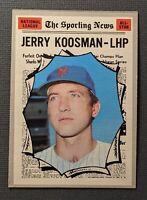 1970 Topps #468 Jerry Korsman New York Mets EXMT