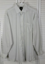 Jos A Bank Travelers Collection Mens L/Sleeve Spread Collar Dress Shirt 16½ 35