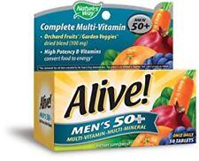 Nature's Way Alive! Men's 50+ Multivitamin/Multimineral Tablets (50 Tablets)