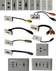 Multimedia Modular Wall Socket Faceplate Network HDMI VGA PHONO 3.5mm USB RJ45