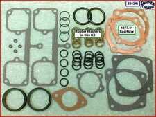 Top End Gasket Kit, Rubber P/R seals, 77-81 Ironhead Sportster Harley 1000cc
