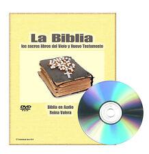 Biblia REINA VALERA en Español Audio MP3 y Texto PDF Audio Book DVDROM