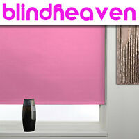 BLACKOUT ROLLER BLINDS / HIGH QUALITY MADE TO MEASURE PRODUCT 29 COLOURS