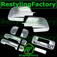 07-13 TOYOTA TUNDRA DOUBLE CAB Mirror+Chrome 4 Door Handle+Tailgate Camera Cover